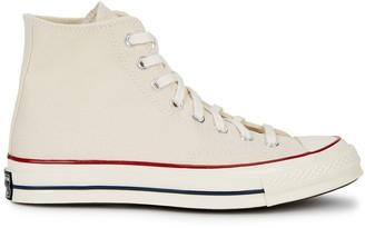 Converse Chuck 70 Cream Hi-top Canvas Sneakers