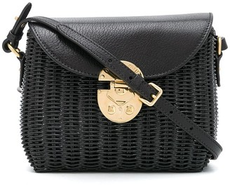Miu Miu Small Raffia Crossbody Bag