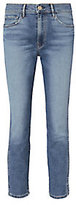 3x1 W3 Camden Crop Authentic Straight Jeans