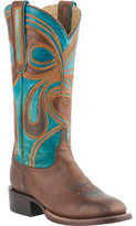 Lucchese Women's Since 1883 M4832. WF Square Toe Fowler Heel Boot
