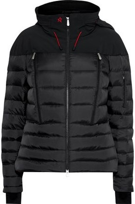 Perfect Moment Polar Quilted Down Hooded Ski Jacket