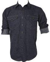 Pendleton Men's Fitted Cascade Wool Denim Shirt