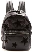 Stella McCartney Falabella Go star-appliqué eco-nylon backpack