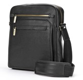 Amerileather AmeriLeather Front Flap Leather Messenger Bag