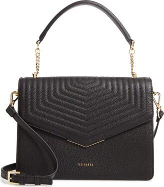 Ted Baker Brittni Top Handle Leather Envelope Bag