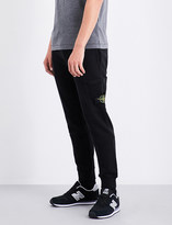 Stone Island Logo-embroidered cotton-jersey jogging bottoms
