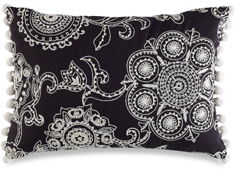 Bed Bath & Beyond Anthology™ Clara Embroidered Toss Pillow