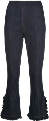 Cinq à Sept Seneca cropped denim jeans