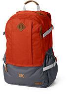 Classic Boys Campus Zip-top Backpack-Deep Sea Print