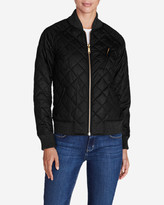 Eddie Bauer Women's Blacktail Bomber Jacket - Black