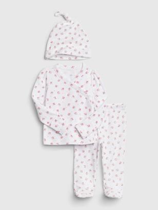 Gap Baby Print Kimono Outfit Set