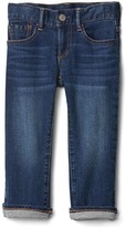 Gap 1969 Jersey-Lined Straight Jeans