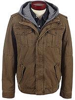 Levi's Twill Hooded Trucker Jacket