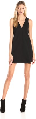 BCBGeneration Women's Shift Dress with Front Pleat