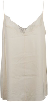 Calvin Klein Lace Trimmed Camisole Top