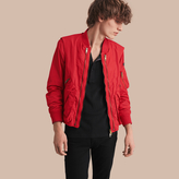 Burberry Technical Bomber Jacket with Detachable Gilet