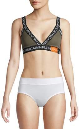 Calvin Klein Underwear 1981 Bold Cotton Stretch Unlined Bralette