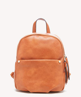 Sole Society Women's Siena Backpack Vegan Leather Black One Size From