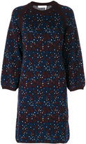 Chloé floral knit webbed dress - women - Cotton/Polyamide/Spandex/Elastane - XS