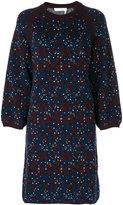 Chloé floral knit webbed dress