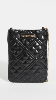 Moschino Love Phone Crossbody Bag