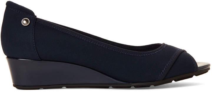 5f7b9a1a6abf7 Anne Klein Peep Toe Shoes - ShopStyle