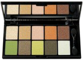 NYX Eye Shadow Palette 10 Color, Secret World, 0.49-Ounce by