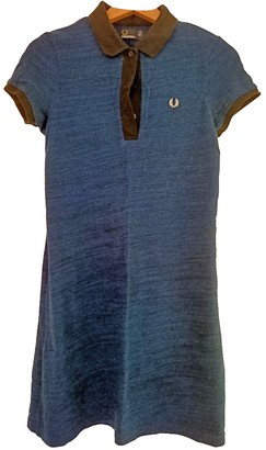 Fred Perry Blue Cotton - elasthane Dress for Women