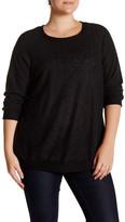 Bobeau Long Sleeve Sweatshirt (Plus)