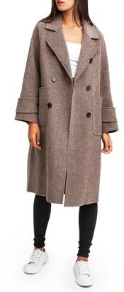 Belle & Bloom Rumour Has It Oversized Wool Blend Coat