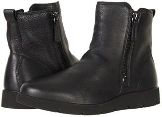 Ecco Bella Zip Boot (Black Cow Leather) Women's Boots