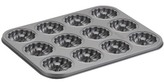 Cake Boss Novelty Nonstick Bakeware 12-Cup Molded Braid Cookie Pan\n
