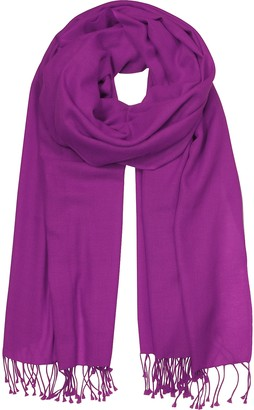 Forzieri Purple Pashmina Shawl