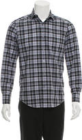 Lanvin Plaid Button-Up Shirt