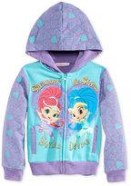Nannette Nickelodeon's Shimmer & Shine Fleece Hoodie, Toddler & Little Girls (2T-6X)