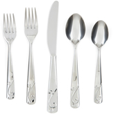 Cambridge Silversmiths Tula Mirror 20-Piece Flatware Set