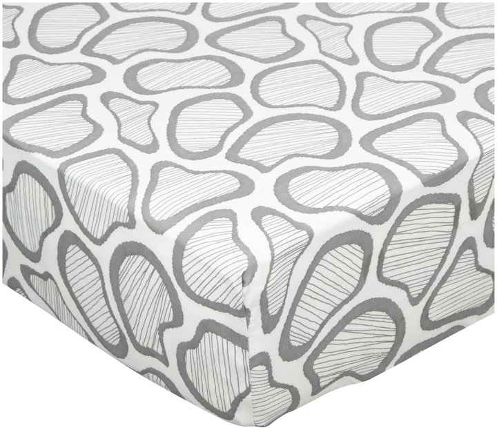 Argington Fitted Crib Sheet - Spots