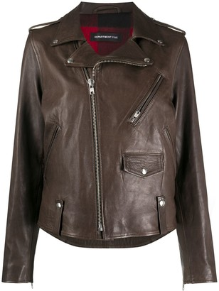 DEPARTMENT 5 Leather Biker Jacket