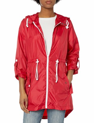 Pink Platinum Women's Lightweight Packable Outdoor Travel Rain Jacket