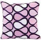 Trina Turk Teardrop Patterned Feather Pillow