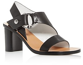 Rag & Bone Women's Arc Cutout Slingback Block-Heel Sandals