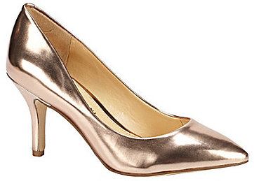 Gianni Bini Remi Metallic Pumps