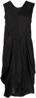 Rick Owens Gathered Back Detail Dress