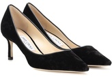 Jimmy Choo Romy 60 velvet pumps