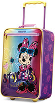 """Disney Minnie Mouse 18"""" Rolling Suitcase by American Tourister"""