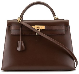 Hermes Pre-Owned Kelly Sellier 32 2way bag