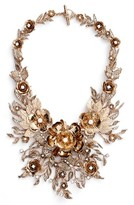 Marchesa Women's Enchanted Vines Drama Bib Necklace