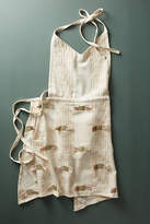 Anthropologie Mollie Embroidered Apron