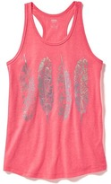 Old Navy Graphic Racerback Tank for Girls