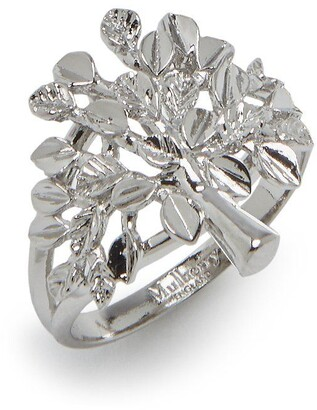 Mulberry Tree Ring Silver